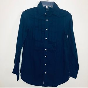 Polo Ralph Lauren Blue Button Down Long Sleeves